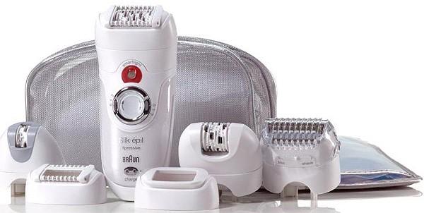 Αποτριχωτική Μηχανή Braun Silk épil Expressive 7000 series 7681