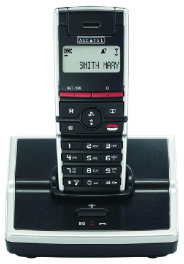 Alcatel Ασύρματο Τηλέφωνο Dect 21829 Μαύρο