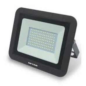 Προβολέας Εξ. LED 50W IP65 Μαύρος 6400k