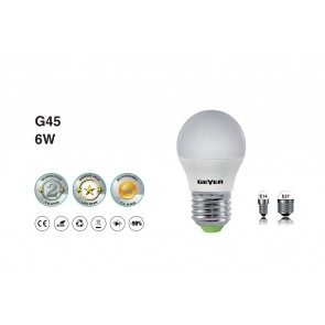 Λάμπα Led Geyer SMD G45 E14 5W 240V LGLWE146G