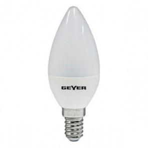 ΛΑΜΠΑ LED C37 E14 3000K 7W 540L Geyer LCWE147