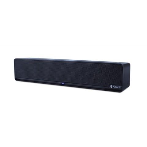 KISONLI MULTIMEDIA ΗΧΕΙΟ I-510, 2.0CH, 2X 3W, USB, ΜΑΥΡO