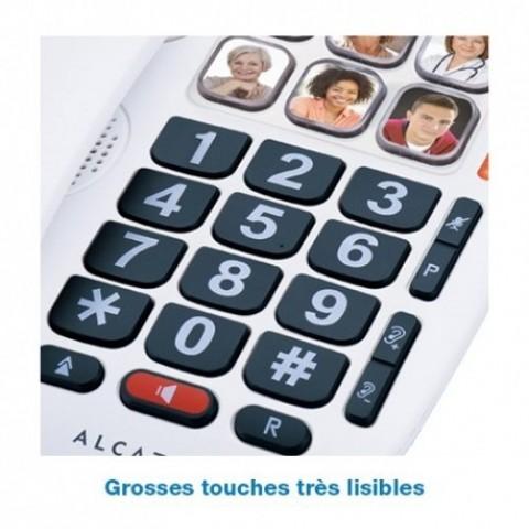 Ενσύρματο Τηλέφωνο Alcatel TMAX 10 Λευκό