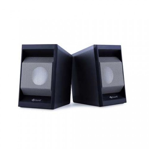 KISONLI Multimedia ηχεία Τ-006, 2.0ch, 2x 3W, USB/Jack 3.5mm, μαύρα